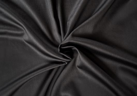 Saténové prostěradlo LUXURY COLLECTION 80x200cm černé