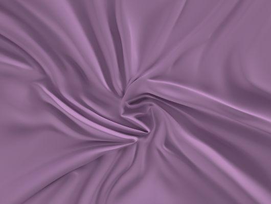 Saténové prostěradlo LUXURY COLLECTION 80x200cm fialové