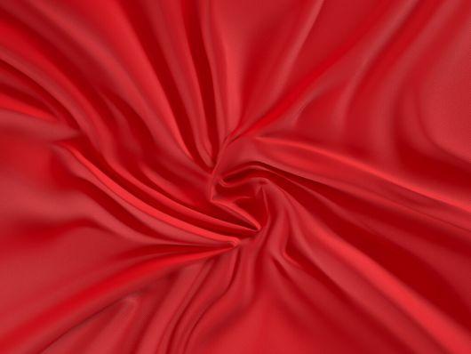 Saténové prostěradlo LUXURY COLLECTION 90x200cm červené