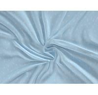 Saténové prostěradlo LUXURY COLLECTION 90x200cm LOOP modré