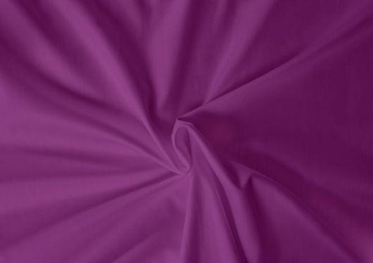 Saténové prostěradlo LUXURY COLLECTION 90x200cm tmavě fialové